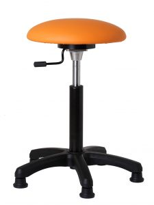 balanskruk, bewegend zitten, oefenkruk, oefenbal, mensendieck