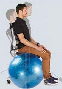 bureaustoel alternatief bewegend zitten