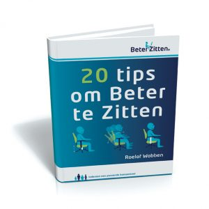 e-book 20 TIPS om beter te zitten